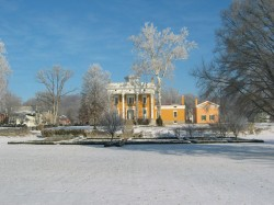 J.F.D Lanier Mansion - Winter Time